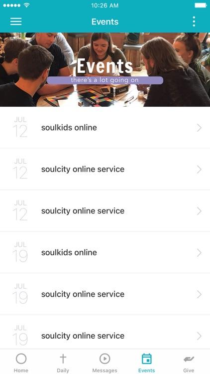 soulcity church app