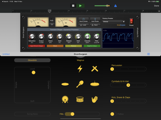 Drum Surgeon AUv3 Plugin screenshot 6