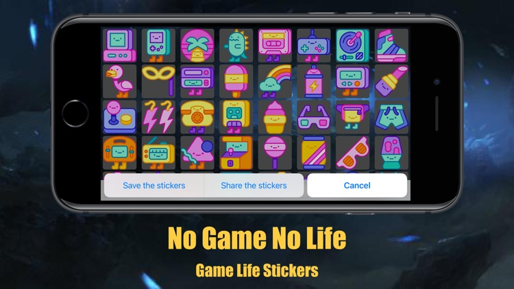 Game Life Stickers