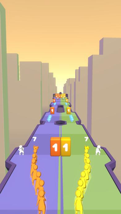 Crowd Snake Run screenshot 4