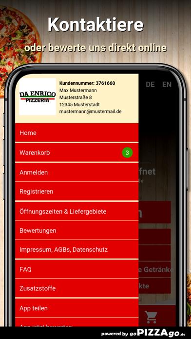 Pizzeria Da Enrico Wiesbaden screenshot 3