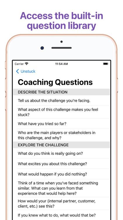Unstuck - Coaching for Growth screenshot-3