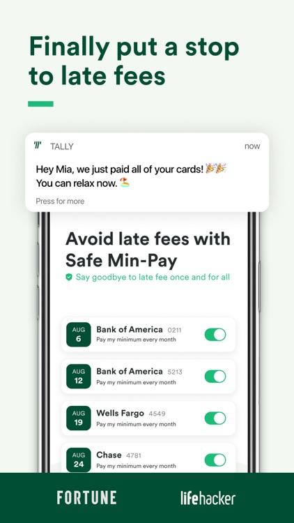 Tally: Pay Off Debt Faster screenshot-3