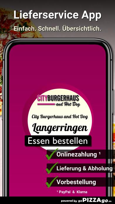 City Burgerhaus and Hot Dog screenshot 1