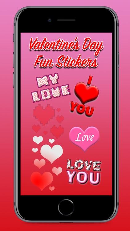 Valentine's Day Fun Stickers