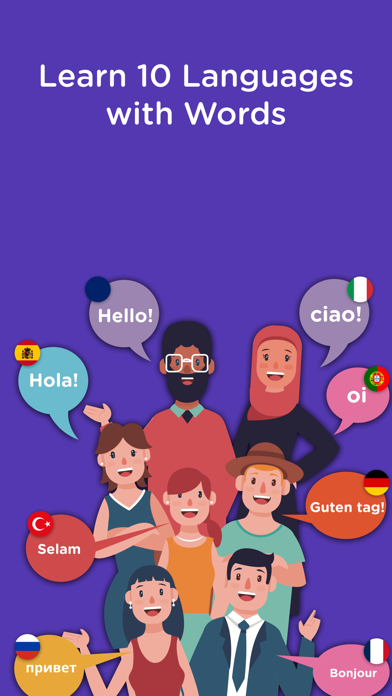 Learn New Languages with Words Screenshot