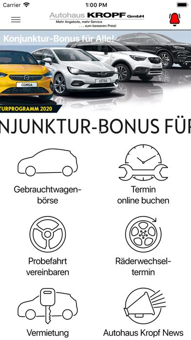 Autohaus Kropf GmbH screenshot 2