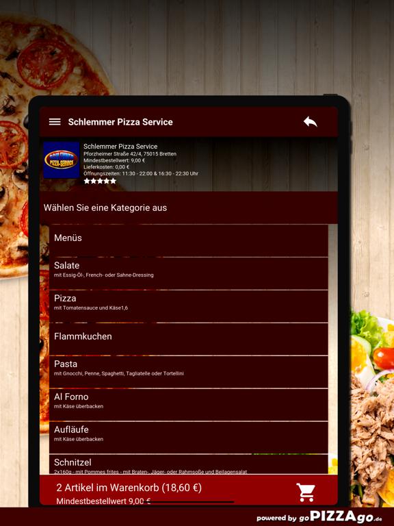 Schlemmer Pizza Bretten screenshot 8