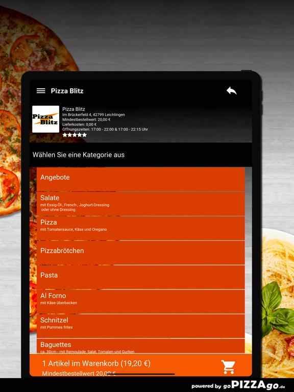 Pizza Blitz Leichlingen screenshot 8