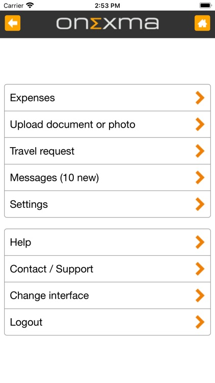 Mobile Expense Reports