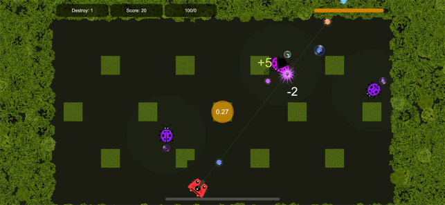 Beetle war, game for IOS