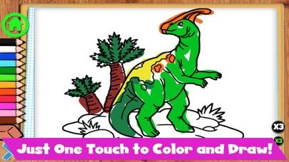 Coloring Dinos screenshot 6