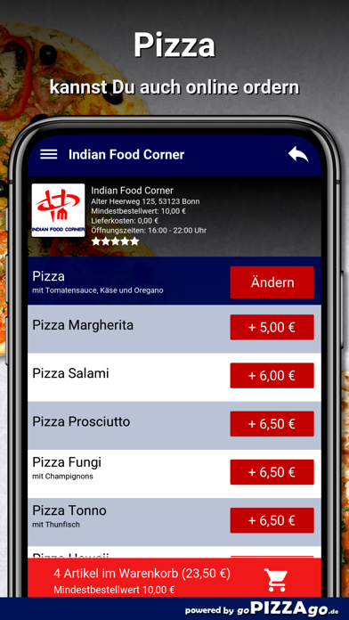 Indian Food Corner Bonn screenshot 5