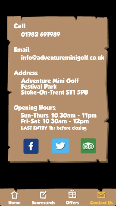 Adventure Mini Golf, Stoke Screenshot