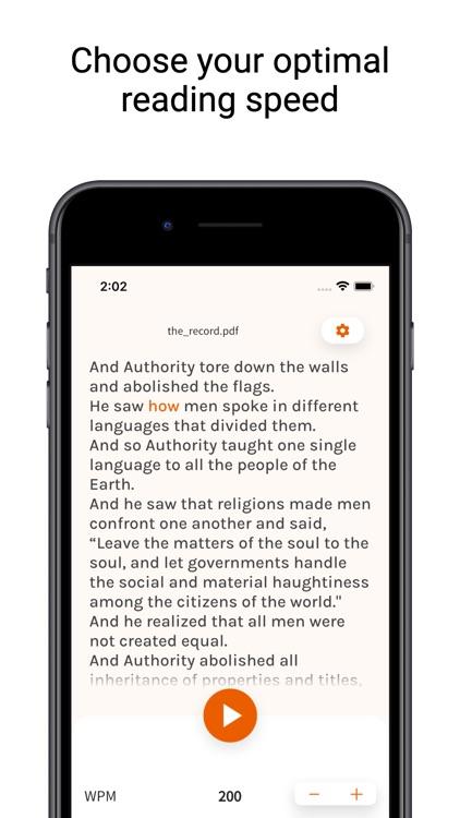 Speed Reader - Book Reader screenshot-7