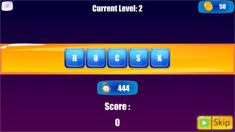 Word Scramble: word shuffle screenshot-3