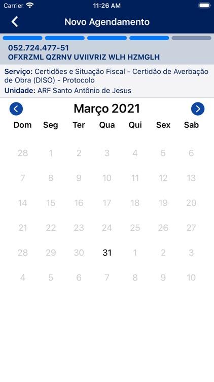 Agendamento RFB screenshot-5