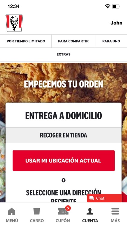 KFC México screenshot-3