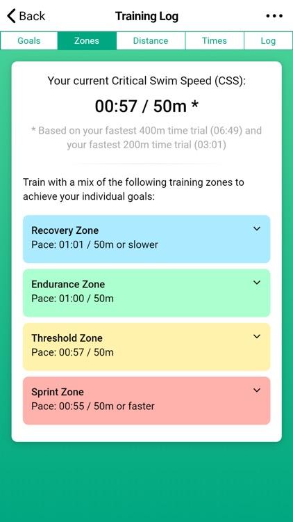 Swim Coach - Training App screenshot-4