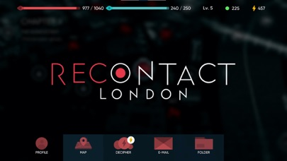 Recontact London: Cyber Puzzle Screenshot