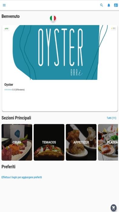 Oyster Bari screenshot 1