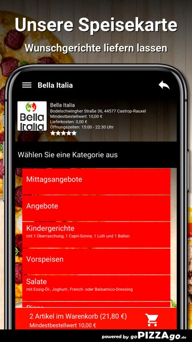 Bella Italia Castrop-Rauxel screenshot 4