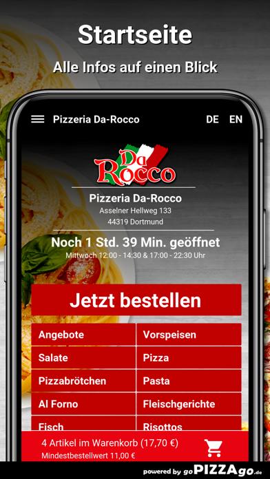 Pizzeria Da-Rocco Dortmund screenshot 2