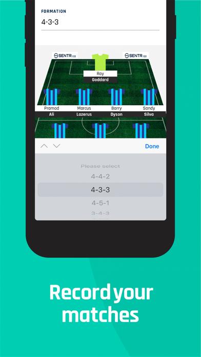 Sentr: Football screenshot 2