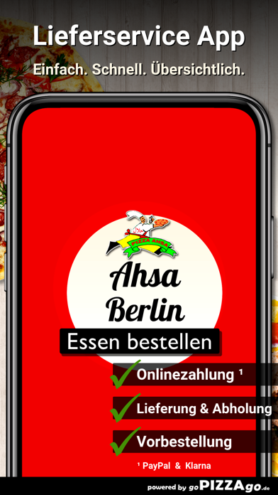 Pizza Ahsa Berlin Wilmersdorf screenshot 1