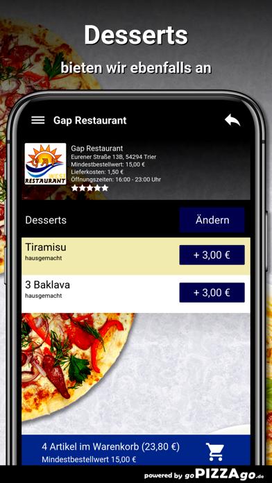 Gap Restaurant Trier screenshot 6