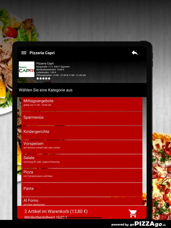 Pizzeria Capri Eppstein screenshot 8