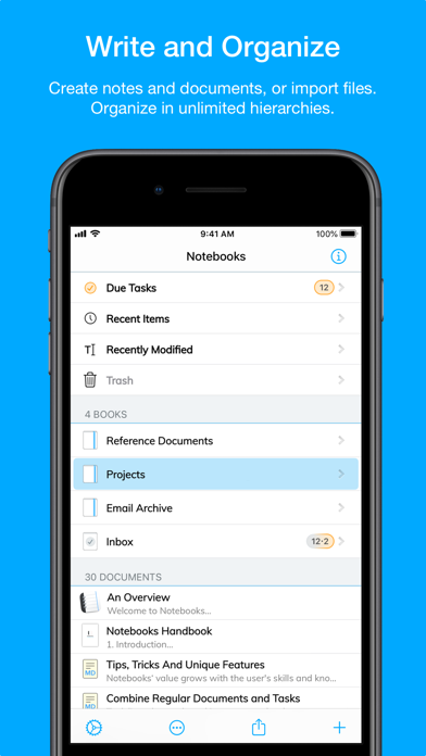 Скриншот №6 к Notebooks – Write and Organize