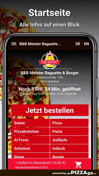 B&B Meister Baguette & Burger screenshot 2