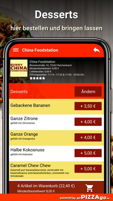 China Foodstation Reichenbach screenshot 6