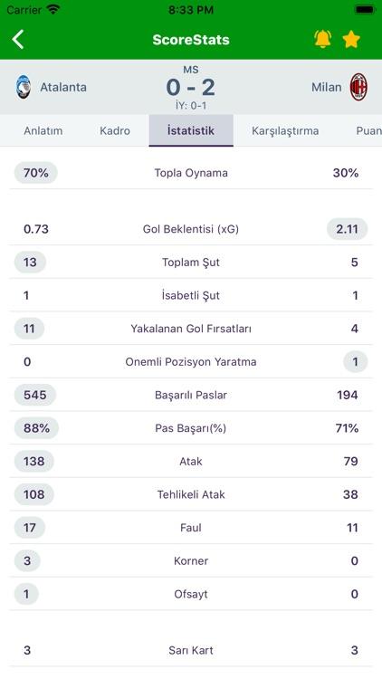 ScoreStats: Live Sports Scores screenshot-4