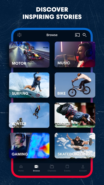 Red Bull TV: Live Events screenshot-4