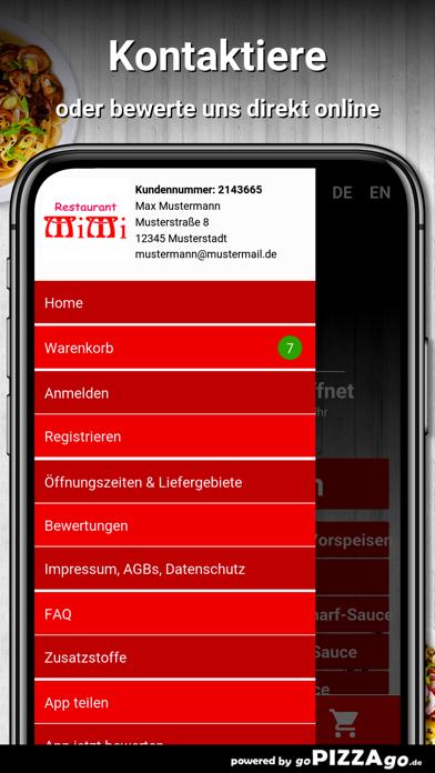 Mimi Restaurant Nürnberg screenshot 5