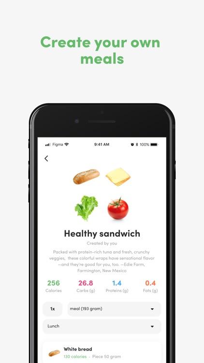 Food - Calorie & macro tracker screenshot-6