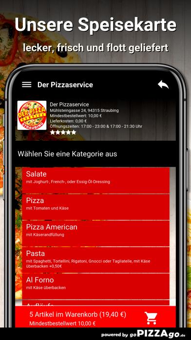 Der Pizzaservice Straubing screenshot 4