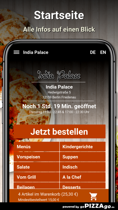 India Palace Berlin Friedenau screenshot 2