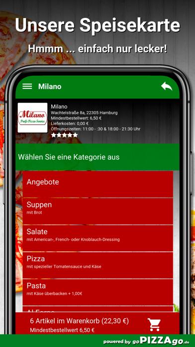 Milano Hamburg screenshot 4