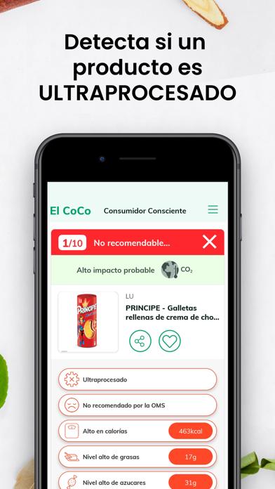 El CoCo - Come más sanoScreenshot of 6