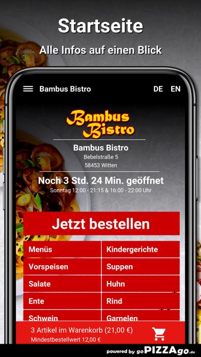 Bambus Bistro Witten screenshot 3