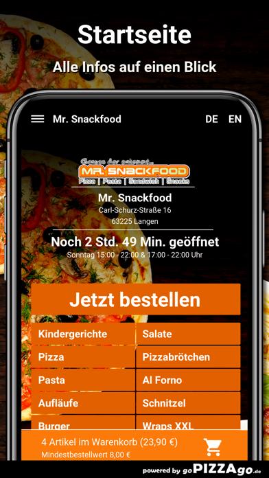 Mr. Snackfood Langen screenshot 2