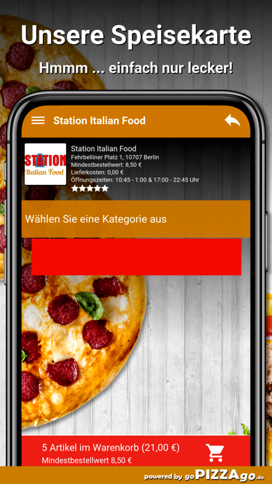 Station Italian Food Berlin screenshot 4