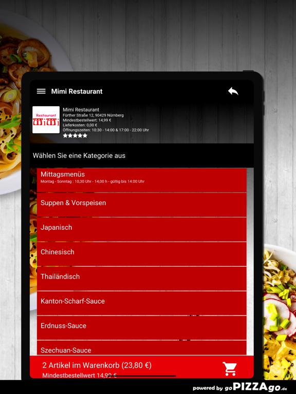 Mimi Restaurant Nürnberg screenshot 8