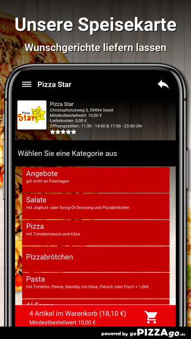 Pizza Star Soest screenshot 4