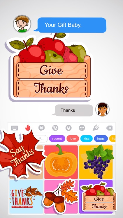 Thanksgiving Holidays Stickers screenshot-4