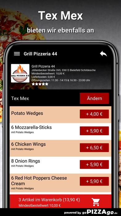 Grill Pizzeria 44 Bielefeld screenshot 6