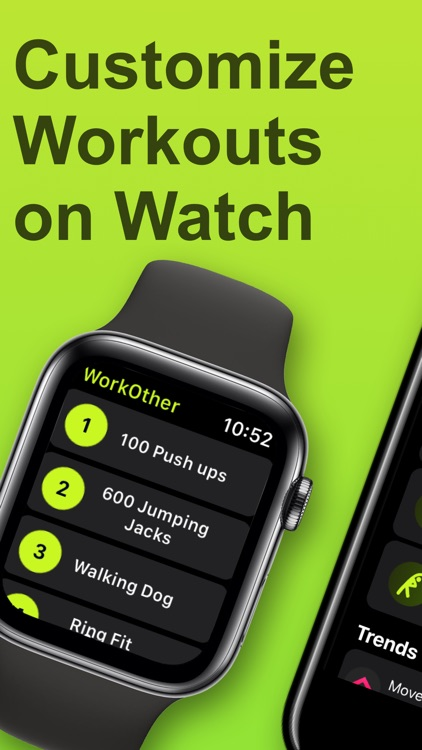 WorkOther - Add Watch Workouts screenshot-0